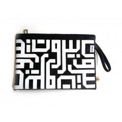 Beirut Calligraphy Clutch