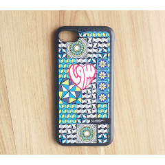 Beirut Heart Colorful tiles Iphone 7 hard case