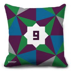 """Pillow Monogram """"waw""""- """"w""""- """"ou"""" - """"و"""""""