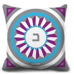 """Pillow Monogram """"Da"""" - """"D""""  - """"د"""""""