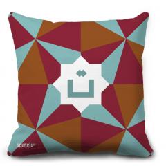 "Pillow Monogram ""Ta"" - ""T""  - ""ت"""