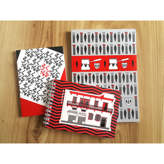 Shufi Mafi and coffee on the Balcony Notebooks Bundle