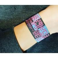 Beirut Fabric Bracelet
