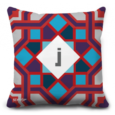 "Pillow Monogram ""Z"" -  ""ز"""